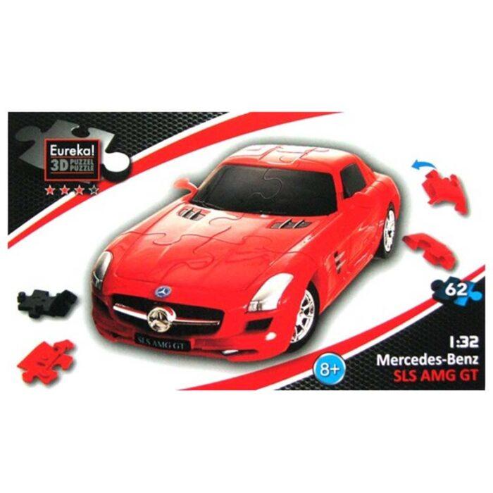 3D pazel mercedes sls amg gt Eureka 3d puzzles pazel kutia
