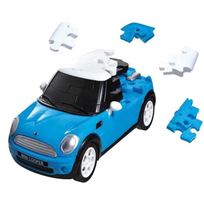 3D pazel mini cooper sinyo Eureka 3d puzzles pazel