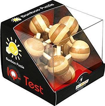 Бамбуков пъзел Атом 3D пъзел Fridolin