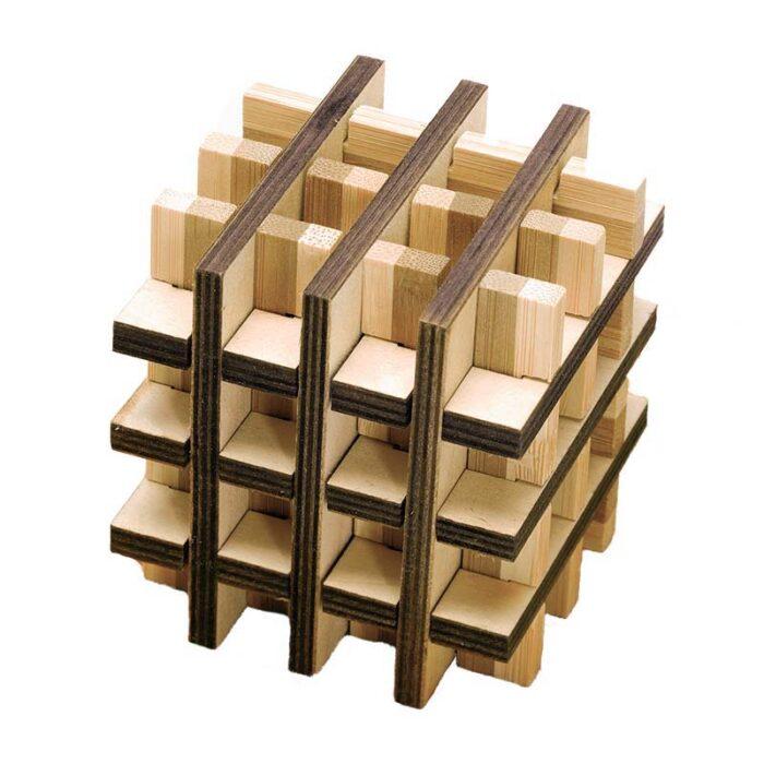 Бамбуков пъзел Multi Square Fridolin