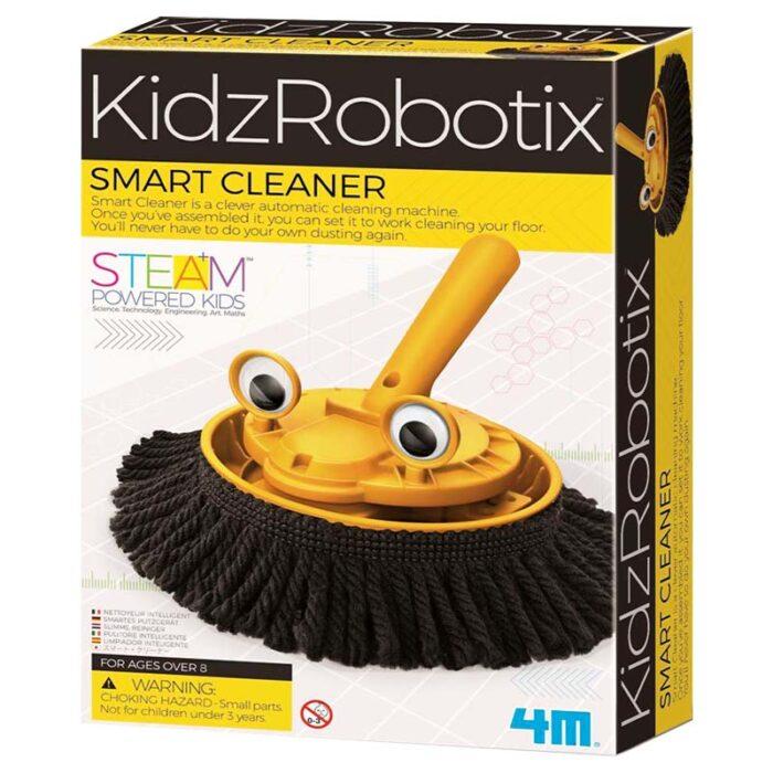 Детска лаборатория-Смарт механичен робот за почистване