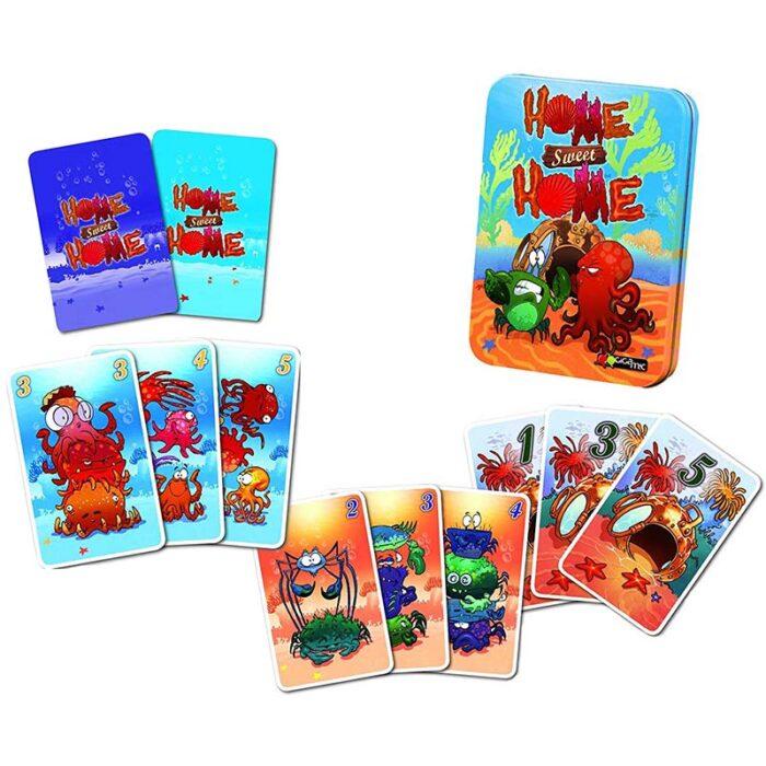 Игра с карти Home Sweet Home Gigamic карти