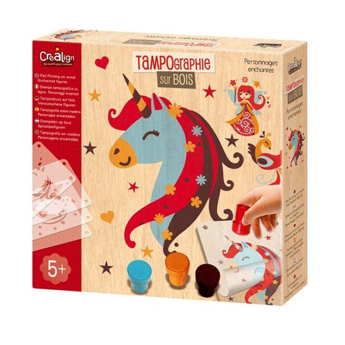Креативен комплект Приказни животни Crealign кутия