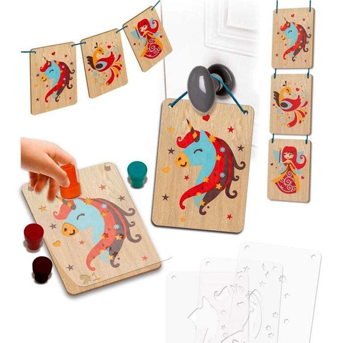 Креативен комплект Приказни животни Crealign Шаблони и печати