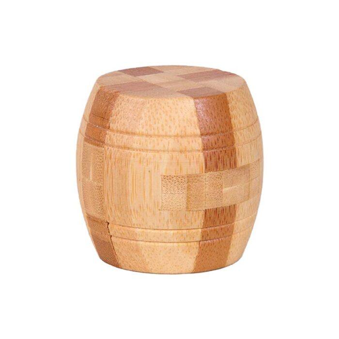Логически бамбуков пъзел Barrel Fridolin