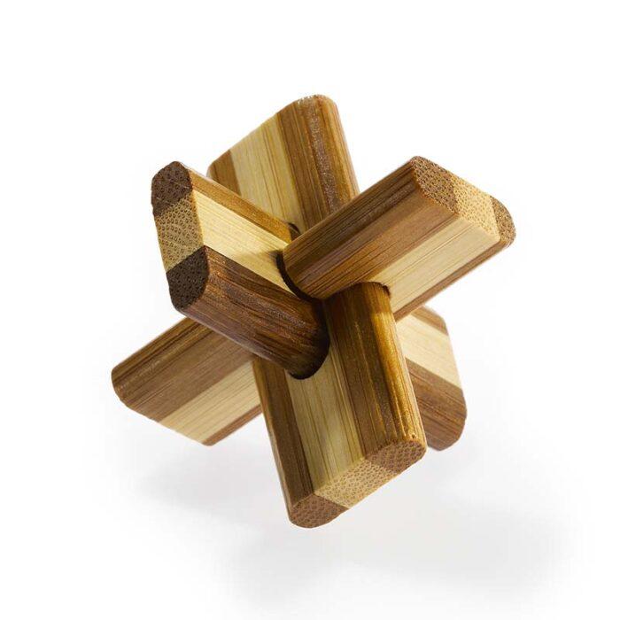 Логически бамбуков пъзел Doublecross Fridolin