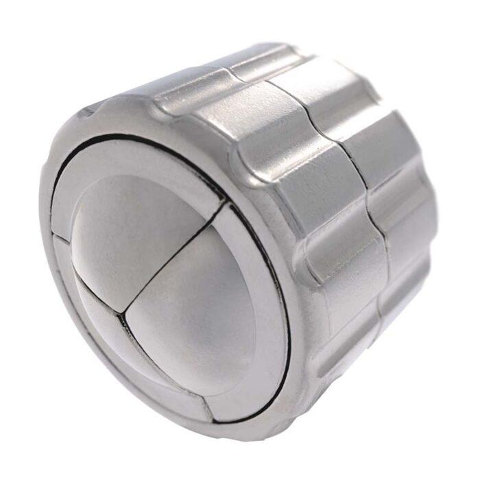 Логически метален пъзел Cylinder Cast Huzzle сглобен