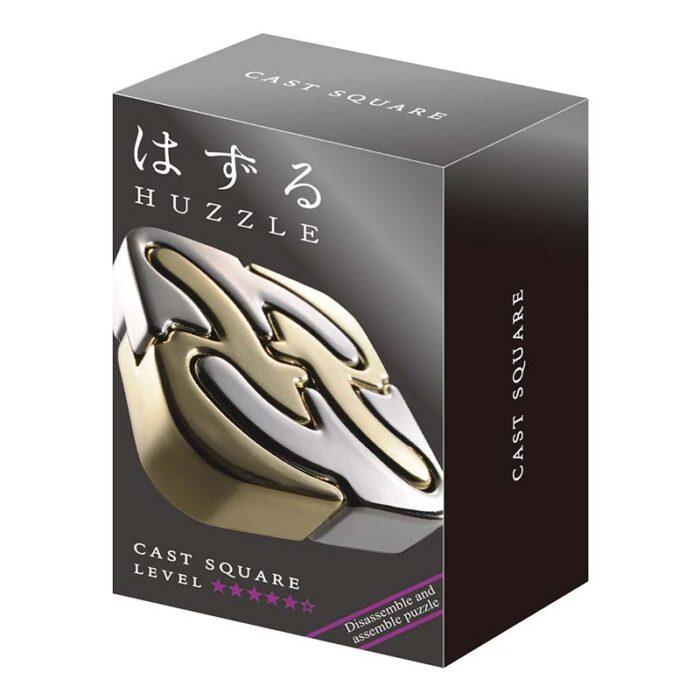 Логически метален пъзел Spiral Cast Huzzle кутия