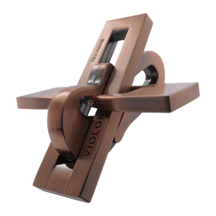 Логически метален пъзел Violon Cast Huzzle събран