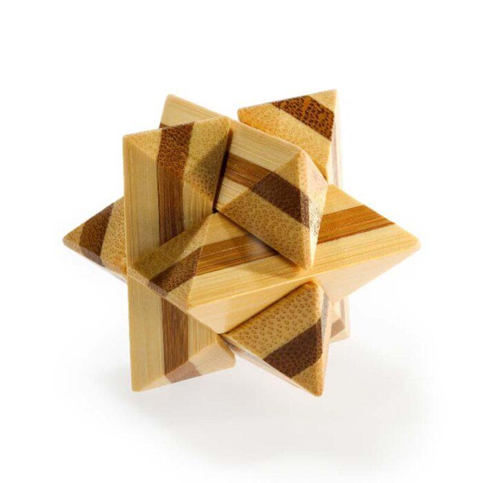 Логически мини бамбуков пъзел Superstar Fridolin