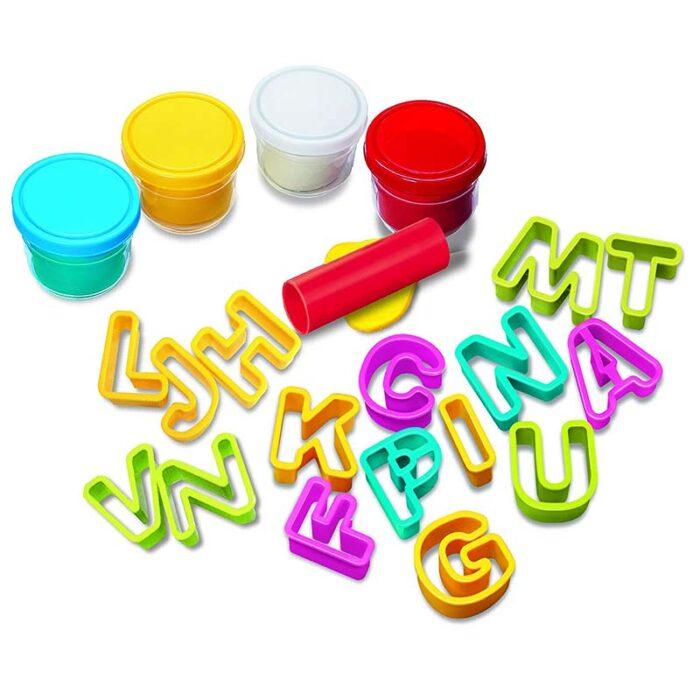 Образователен комплект Alphabet Dough 4M Азбука от пластелин