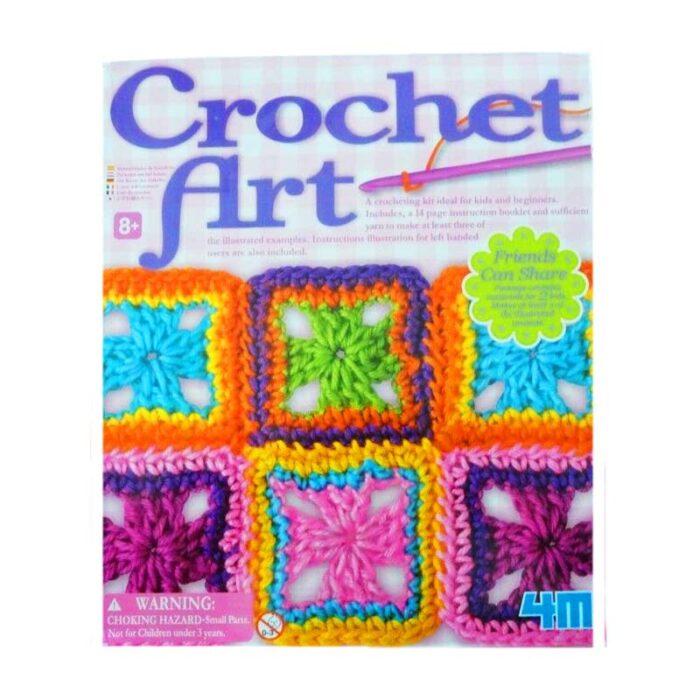 Образователен комплект Crochet Art 4M Плетене на една кутия