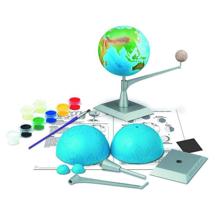 Образователен комплект Earth Moon Model Making Kit 4M Земята и луната елементи