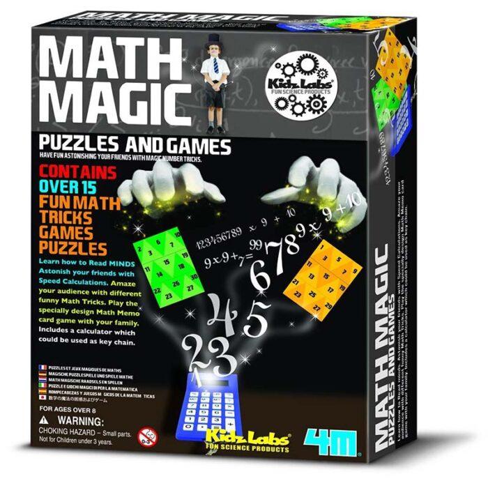 Образователен комплект Math Magic 4M Математически фокуси кутия