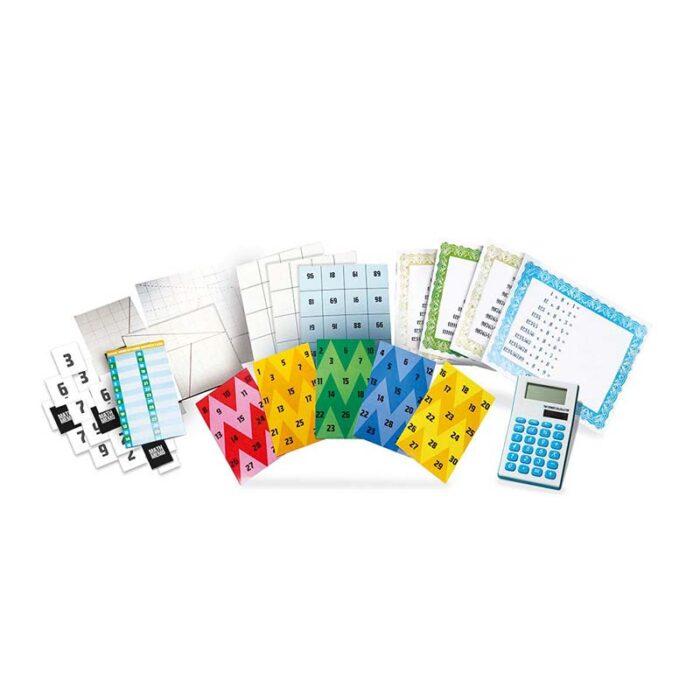 Образователен комплект Math Magic 4M Математически фокуси шаблони и картони за фокуси