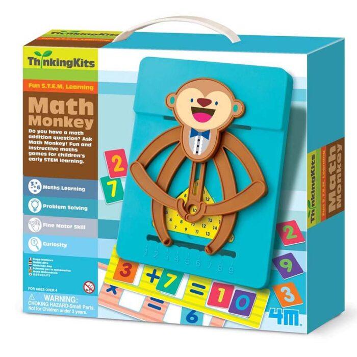 Образователен комплект Math Monkey 4M Математическа маймунка кутия