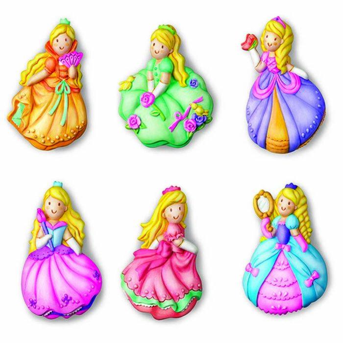 Образователен комплект Mould and Paint Princess 4M Оформи и оцвети принцеси