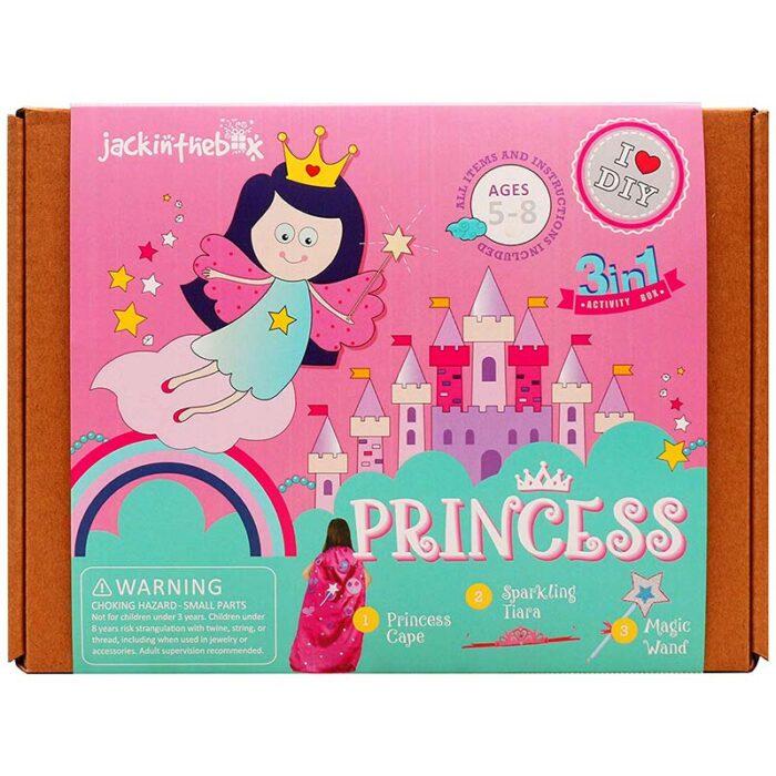Образователен комплект Princess 3 in 1 Jack In The Box Принцеси кутия лице