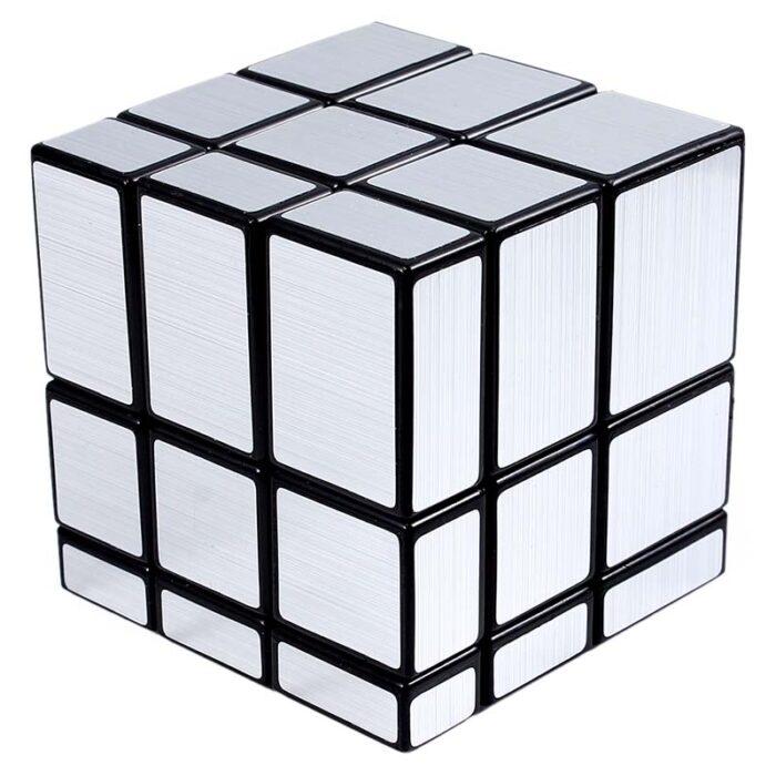 Рубик куб Mirror Cube silver Огледален куб подреден