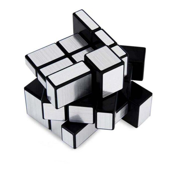 Рубик куб Mirror Cube silver Огледален куб разбъркан