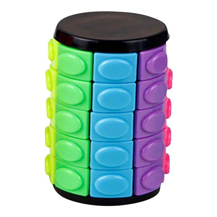 Цилиндър на рубик Rotate and slide puzzle завъртян