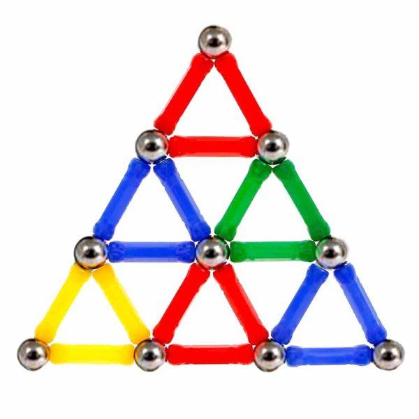 Магнитен конструктор Magnastix фигура триъгълник