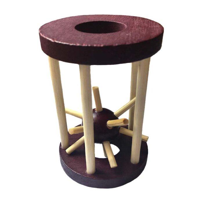 Дървен пъзел Клетка