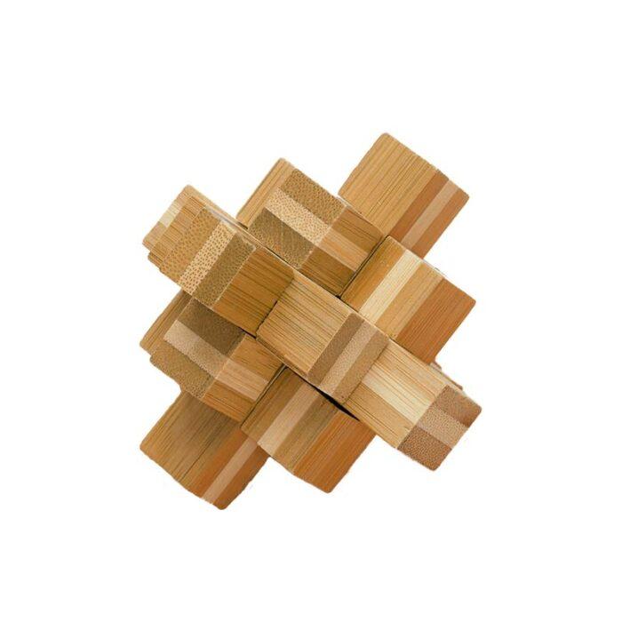 Block бамбуков пъзел Fridolin