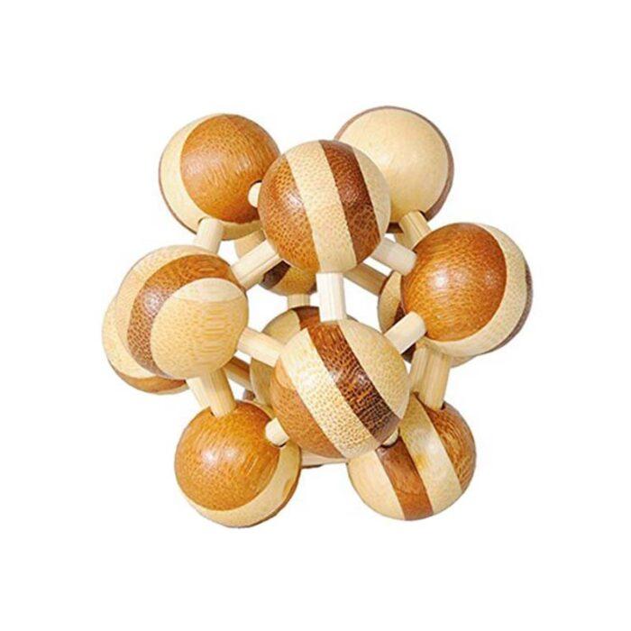 Atom бамбуков пъзел Fridolin