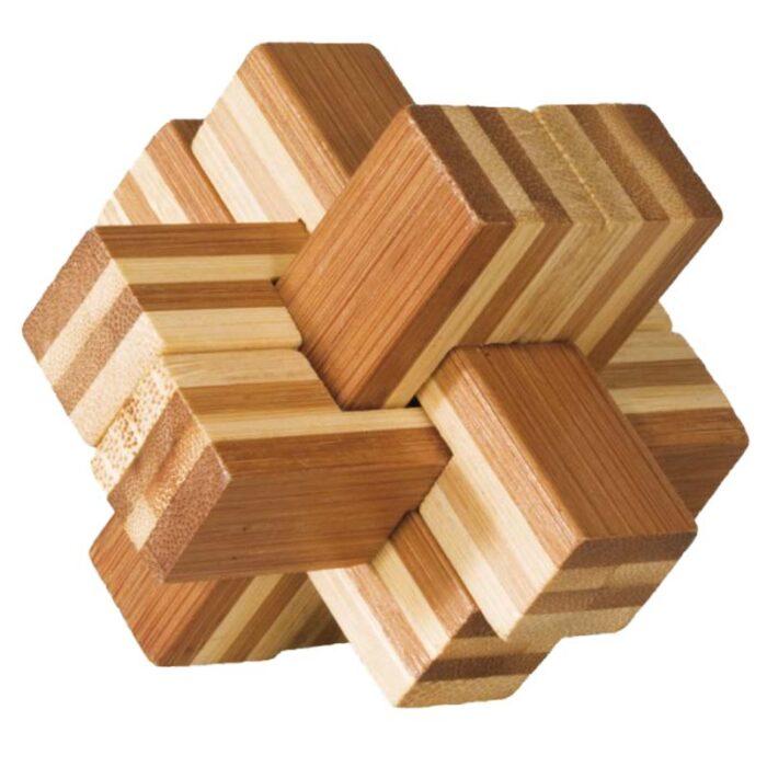 Бамбуков пъзел Block Cross Fridolin