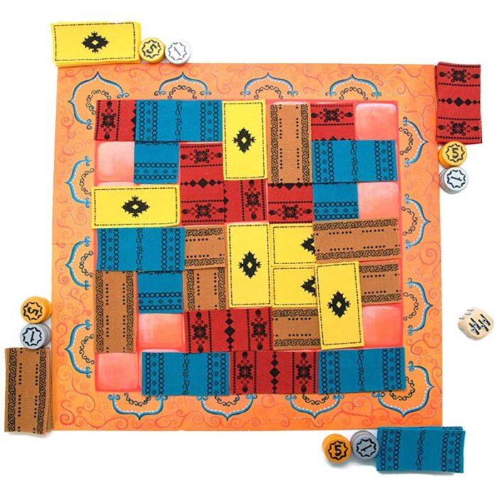 Настолна игра Marrakech игрално поле Gigamic