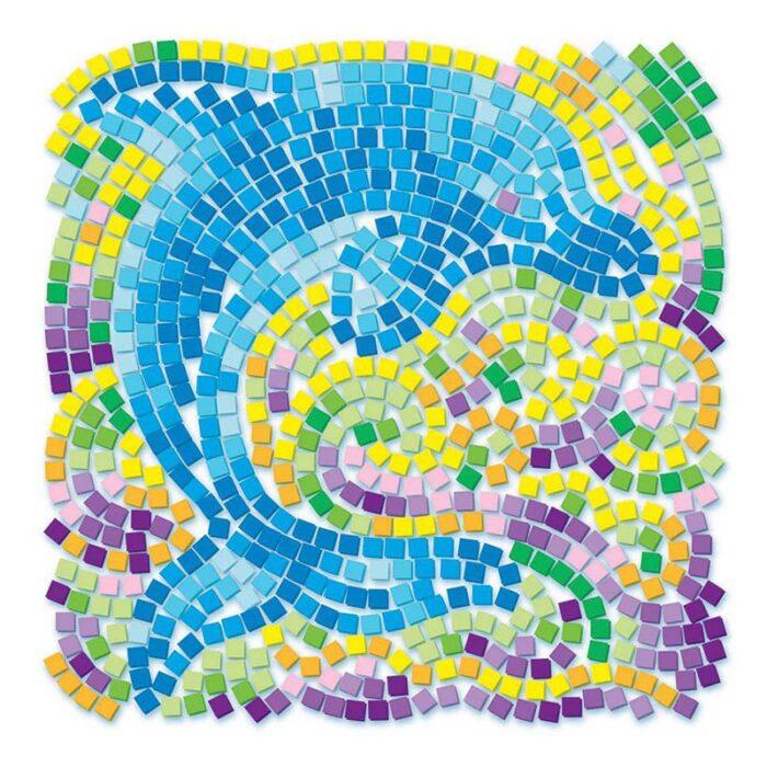 Window Mosaic Dolphin Мозайка за стъкло Делфин