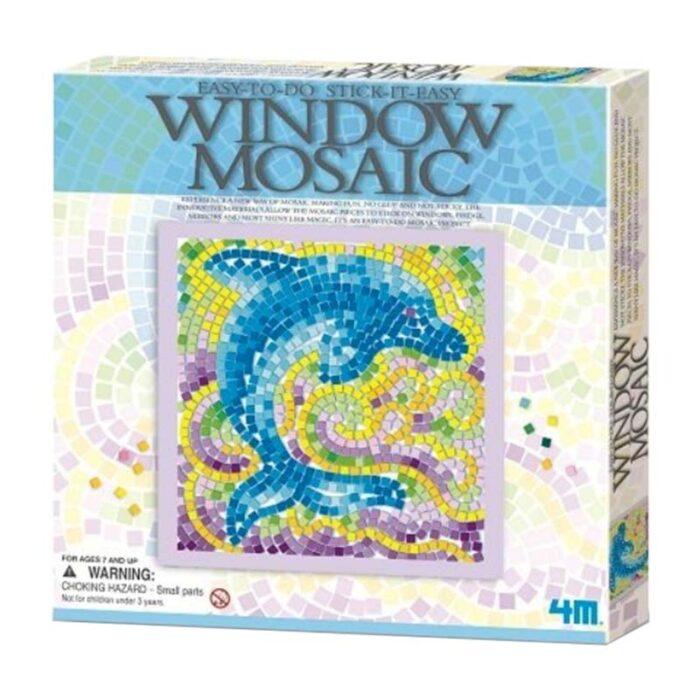Window Mosaic Dolphin Мозайка за стъкло Делфин кутия