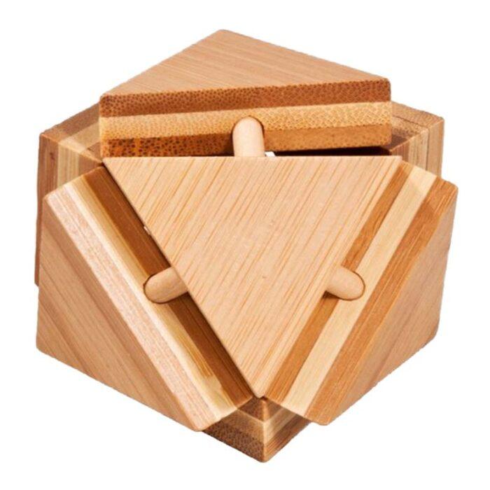 Бамбуков пъзел Triangular Box Fridolin