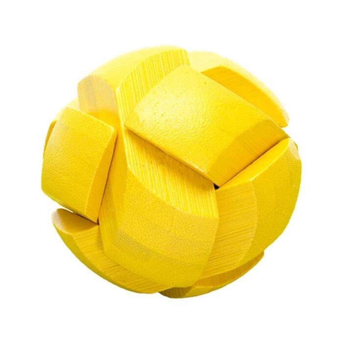 Бамбуков пъзел Yellow Ball Fridolin