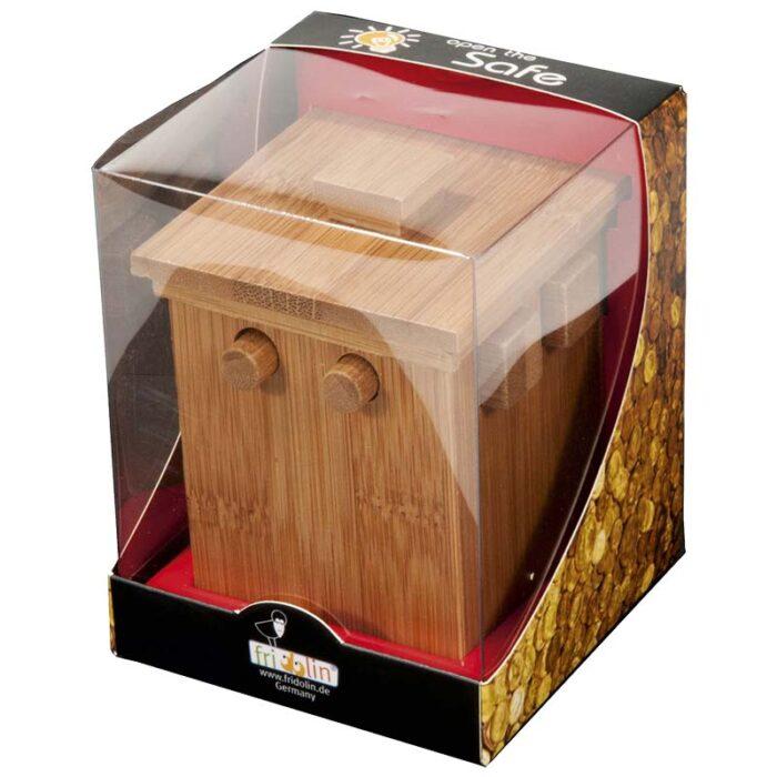 Бамбуков пъзел сейф Bamboo Safe 2 Fridolin кутия