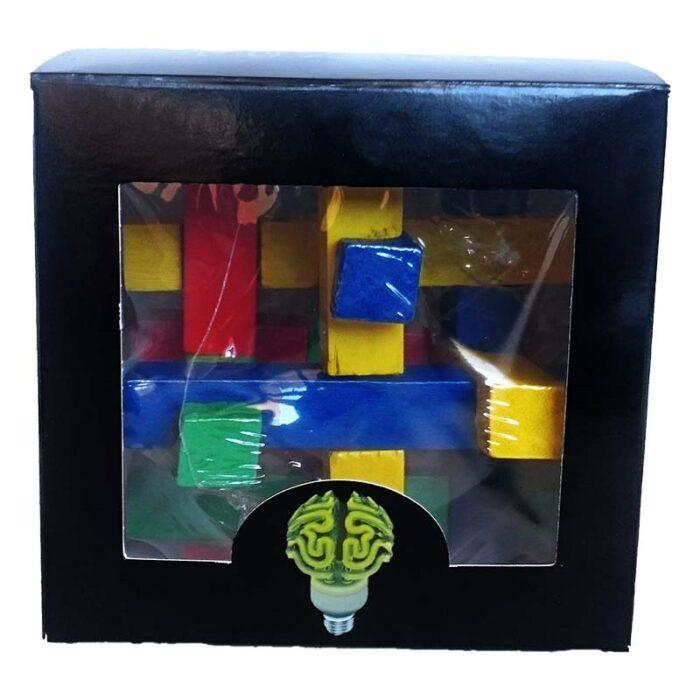 Дървен пъзел Mystery World Creative Puzzles Дървена фигура Мистерия кутия лице
