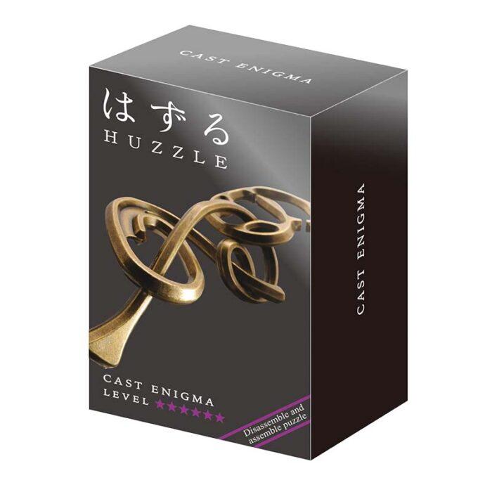 Логически метален пъзел Enigmd Cast Huzzle кутия