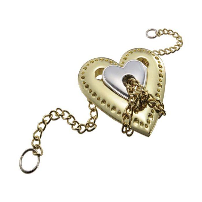 Логически метален пъзел Heart Cast Huzzle сглобен