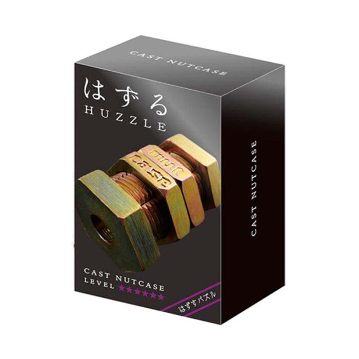 Логически метален пъзел Nutcase Cast Huzzle кутия