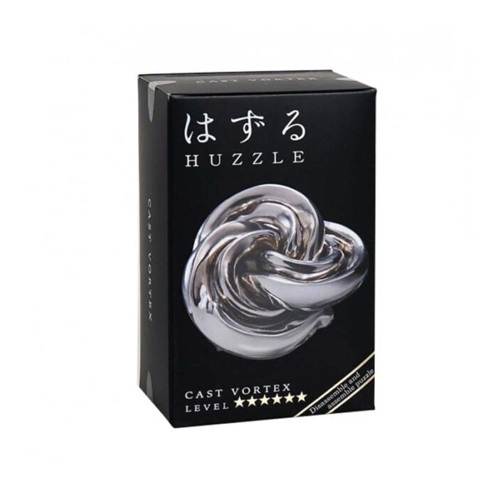 Логически метален пъзел Vortex Cast Huzzle кутия