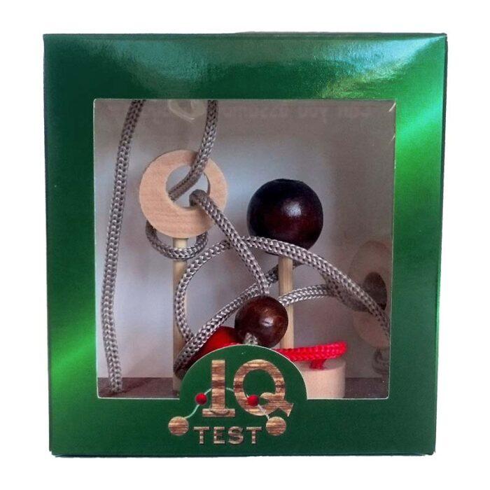 Логически пъзел-3-Point Shot IQ-Test кутия лице