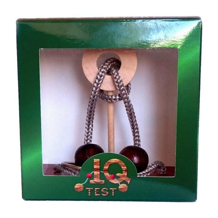 Логически пъзел Brain Booster IQ- Test кутия лице