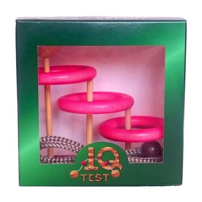 Логически пъзел Orbits IQ- Test кутия лице
