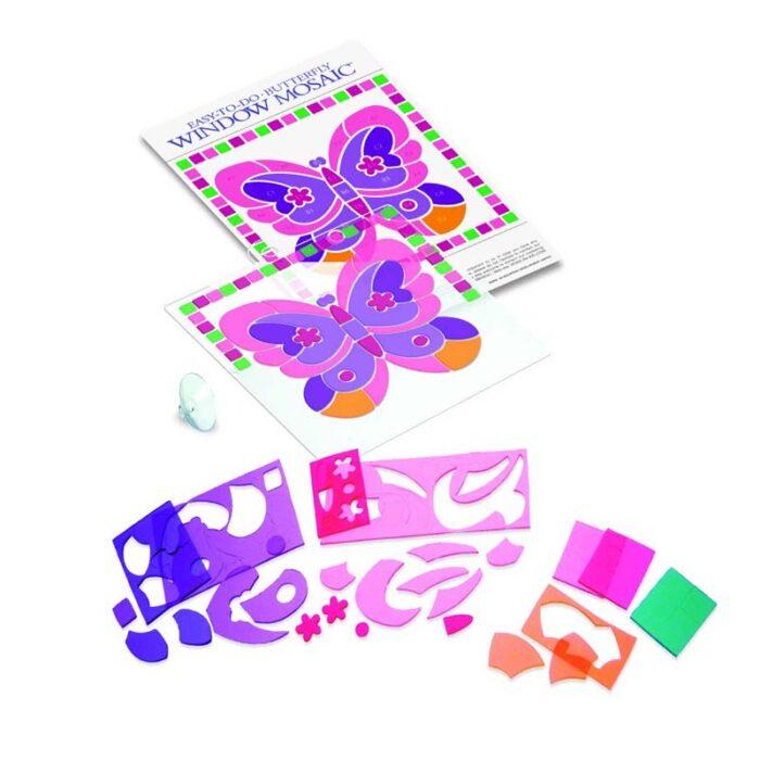 Мини мозайка за стъкло пеперуда Mini Window mosaic Butterfly