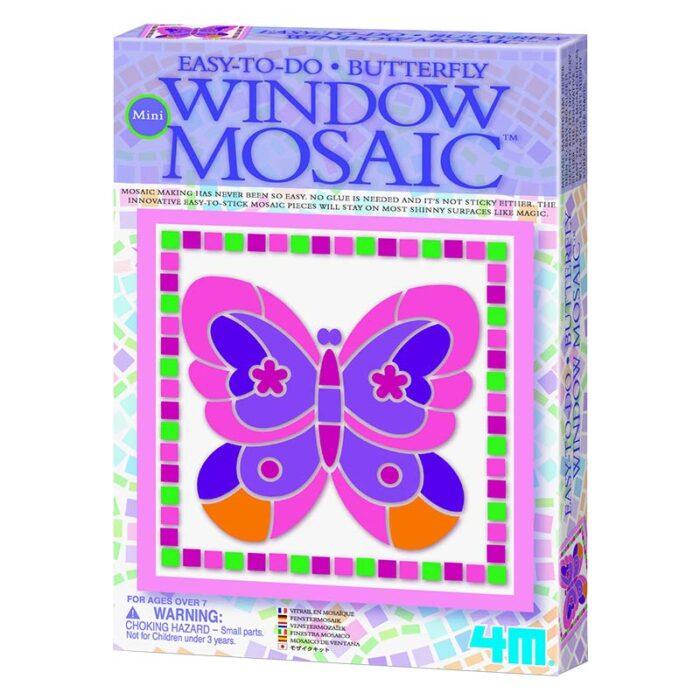 Мини мозайка за стъкло пеперуда Mini Window mosaic Butterfly кутия