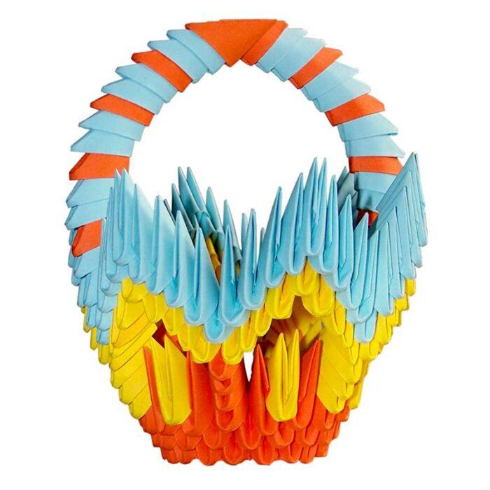 Модулно оригами Кошница Modular Origami Basket