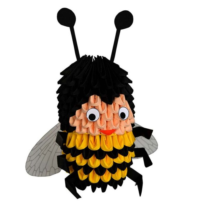 Модулно оригами Пчела Modular Origami Bee