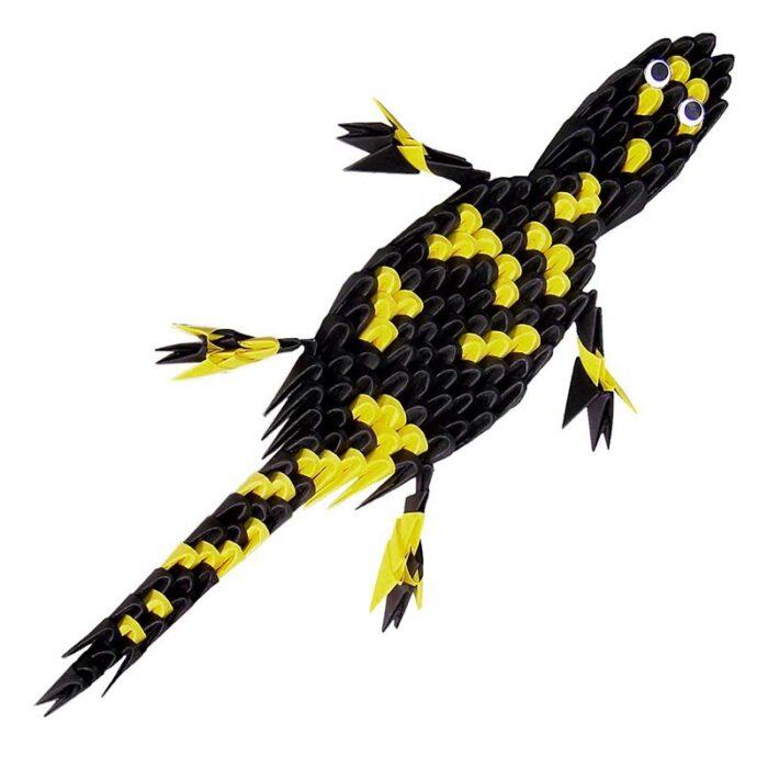 Модулно оригами Саламандър Modular Origami Salamander