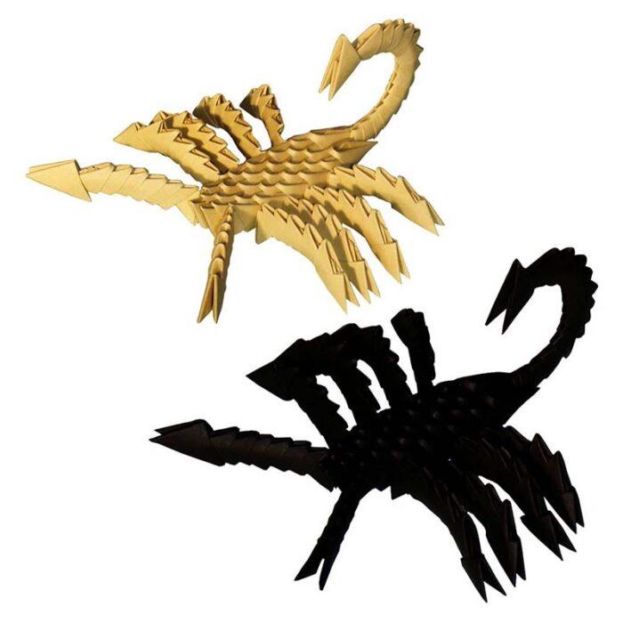 Модулно оригами Скорпион Modular Origami Scorpion